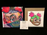 Hebru Brantley Editions Deluxe Book Sealed New 51/150 Lilac Art Print Signed