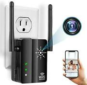 Spy Hidden Camera Wifi Repeater With Live Feed Wifi 1080p Hd Hidden Nanny Cam