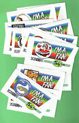 D309.  Set16 Radio 2gb Rugby League Stickers