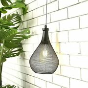 Jhy Design Hanging Lamp Battery Operated Cordless Hanging Light Great For Par...