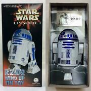 Star Wars Episode I R2-d2 Wind Up Osaka Tin Toy Institute Presents Tinplate