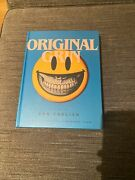 Ron English Original Grin Hard Cover Book. Blue Cover Le Of 250 Signed And Remark
