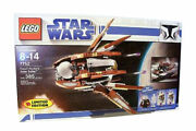 Lego Star Wars The Clone Wars Count Dookuand039s Solar Sailer 7752 Nisb