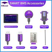 Smart Bms Accessory Bluetooth Usb To Uart Canbus Power Board Touch Lcd Screen