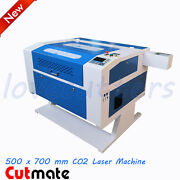 28and039and039 X 20and039and039 Reci W2 Co2 Laser Machine Ruida Controller And Rotary Andpass Through