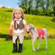 Our Generation Mustang Foal For 46cm Doll Childrenand039s Role-playing Toys