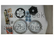 Royal Enfield Front And Rear Wheel Discs Pair Sprockets Axles Kits With Calipers