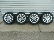 Audi A4 17 Rims And Continental Tires - Take Offs Only 350 Miles 1899.00