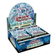 Yugioh Dawn Of Majesty 1st Edition Booster Box New Factory Sealed Ships 8/12