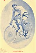 The White Flyer 1897 Eddie Bald Columbia Bicycle Racer Antique Sheet Music