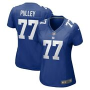 Brand New 2021 Spencer Pulley New York Giants Nike Womenand039s Game Player Jersey 77