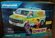 Playmobil Scooby-doo Mystery Machine 70286 With Fred, Daphne And Velma Figures