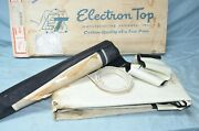 Vtg 1957 1958 Buick Special Convertible Top White Vinyl Curtain Needs Cleaning