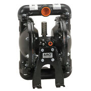 Aro 666101-2eb-c Double Diaphragm Pump, Stainless Steel, Air Operated,