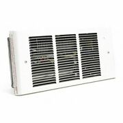 Dayton 3ug15 Recessed Electric Wall-mount Heater, Recessed, 1500/1125/750/375 W