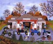 Jane Wooster Scott Good Old Days Artistand039s Proof Canvas Giclee