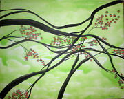 Still Life Abstract Painting By West Davis Acrylic 20 New From Gallery On Sale