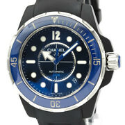 Polished J12 Marine Steel Rubber Automatic Mens Watch H2561 Bf531256
