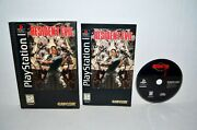 Resident Evil Sony Playstation 1 1996 Ps1 Psone Psx 2 3 Long Box Complete