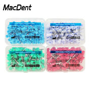 Macdent Dental Rubber Prophy Tooth Teeth Polish Polishing Cups Latch Type Brush