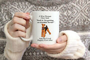 Funny Airedale Terrier Gifts For Women A Wise Woman Once Said Coffee Mug