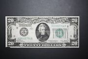 1928 20 Dollar Bill Low Serial Number 4 Digit Out Of 2,523,300 Notes Printed