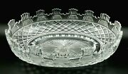 Vintage Waterford Crystal Made In Ireland Kennedy Prestige Collection Oval Bowl