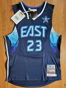 Lebron James Mitchell And Ness Authentic 2009 All Star Jersey Cavaliers 40 Medium