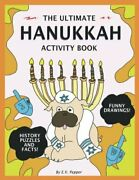 The Ultimate Hanukkah Activity Book History Drawings Puzzles Candles Me...