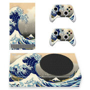 Xbox Series S X Slim Console Controller Skins Decals Fuji Mountain Wave Japanese