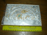 Antique 1850s Valentine's Day Card W/ Paper Lace