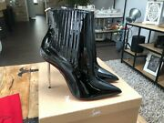 Christian Louboutin Epic 100mm Black Ankle Boots New