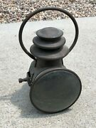 Eary Automobile Vintage Carriage Stay-lit Old Lamp Light Antique Lantern Brass 1
