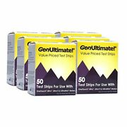 Genultimate 50ct 6-pack - 300 Test Strips For Onetouch Ultra Ultra2 And Ultramini