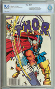 Thor 337 Cbcs 9.6 Ow/wh Pages Newsstand // 1st Beta Ray Bill Marvel 1983