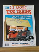Classic Toy Trains 1992 April Uncataloged Sets Beer Reefers Mpc Diesels