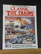 Classic Toy Trains 1995 November Lionel Layout American Flyer Build A Layout