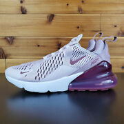 Nike Air Max 270 Barely Rose/wine Ah6789-601 Womenand039s Shoes Sneakers B-grade