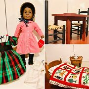 Pleasant Company American Girl Addy - Historic Doll, Clothing, Furniture
