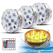Swimming Pool Lights For Bathtub Fountain Hot Tub Waterproof Pond Light With Led