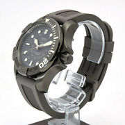 Victorinox Swiss Army Divemaster 500 241561 Gray Skeleton Automatic Watch Used