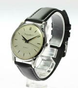 Schaffhausen Ss Automatic Cal.852 Analog Antique Menand039s Watch Used Vintage