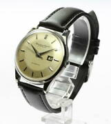 Schaffhausen Automatic Cal.8531 Ss Date Analog Antique Watch Used Vintage