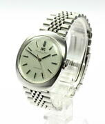 Schaffhausen Automatic Silver Dial Swiss Antique Menand039s Watch Used Vintage