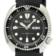 Seiko Watch 150m Diver 3rd Stainless Steel Rubber Self-winding Men's 6306-7001