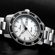Authentic Sinn 104 Watch 104.st.sa.iw Self-winding Sw220-1 Stainless Steel Menand039s