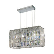 Asfour Crystal Chandelier Foyer Dining Room Kitchen Island Fixtures 8 Light 32