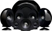 Kef Kht 3005 Home Theater System High Gloss Black - Discontinued