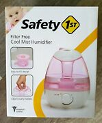 Safety 1st Cool Mist Humidifier Filter Free Hospital's Choice, Pink. New In Box