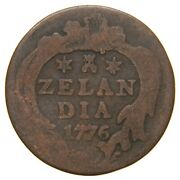 Netherlands Zeeland - 1776 Duit - Year Of American Independence